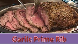 Garlic Prime Rib