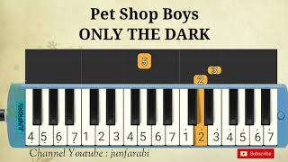 Pet Shop Boys - ONLY THE DARK - pianica easy