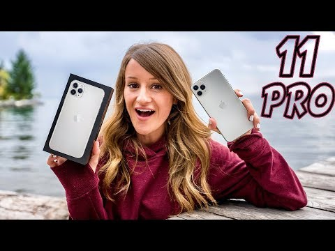 IPhone 11 Pro Max Silver Unboxing!