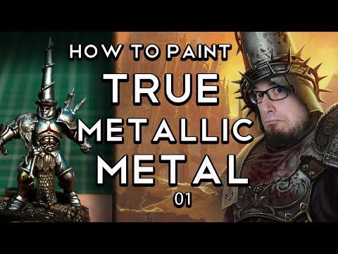 True Metallic Metal 01 - How to paint cool True Metals - TMM