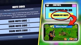 FORTNITE MOBILE SAVE THE WORLD FREE ACCESS CODES