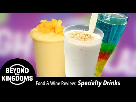 Epcot Food & Wine Festival Best Specialty Drinks
