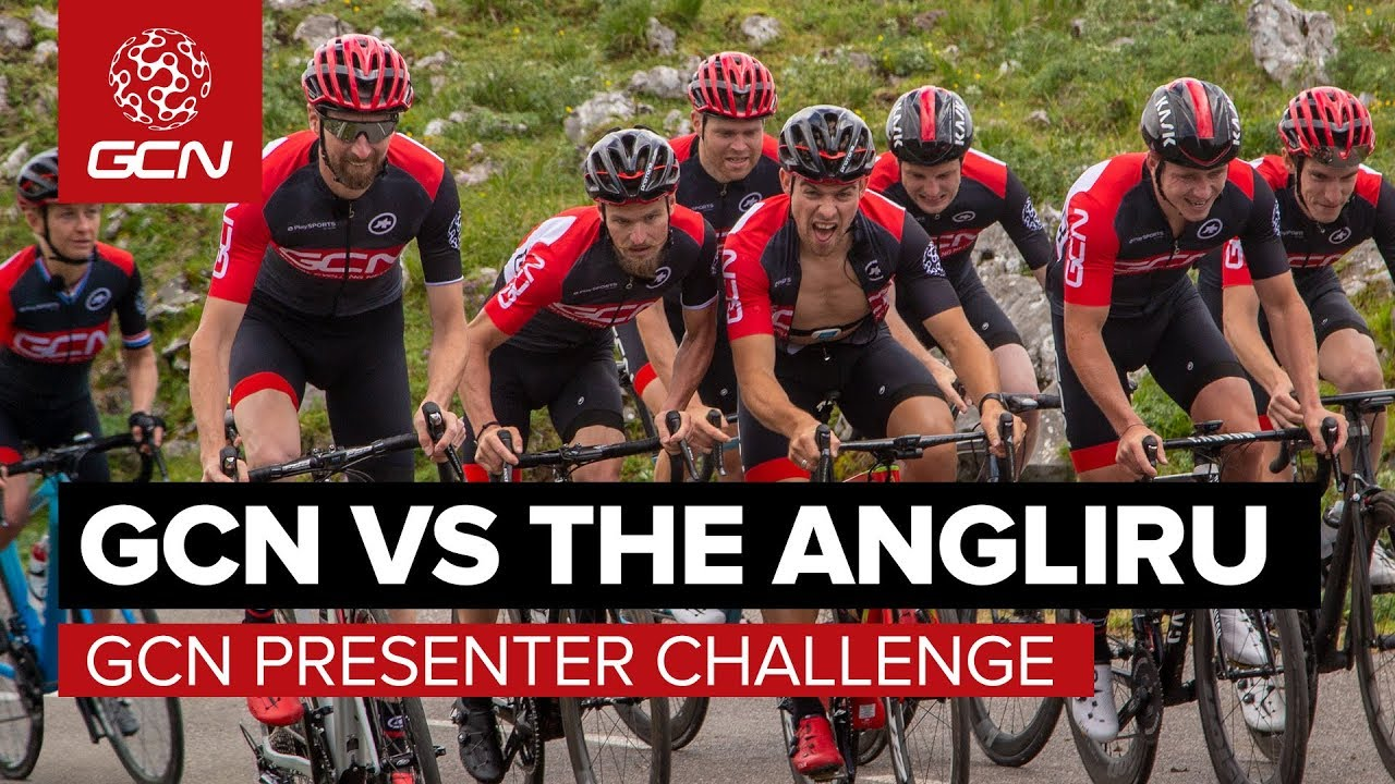 GCN Vs The Angliru: The GCN Presenter Challenge – With GCN ...