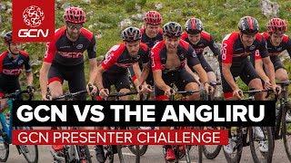 GCN Vs The Angliru: The GCN Presenter Challenge – With GCN en Español!