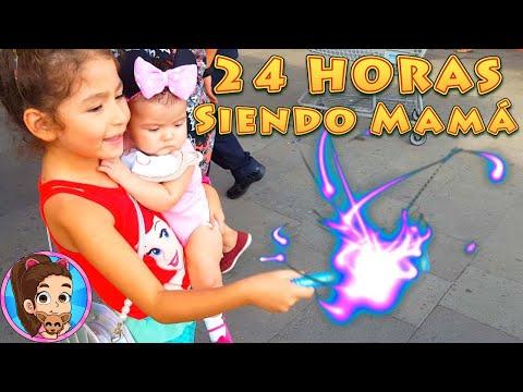 24 HORAS SIENDO MAM� | RETO | CHALLENGE | UNBOXING | REVISI�N