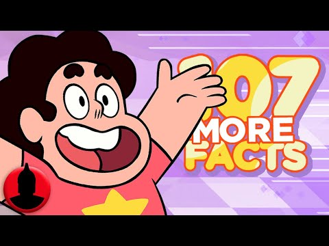 Thumbnail: 107 MORE Steven Universe Facts - (ToonedUp #86) @ChannelFred