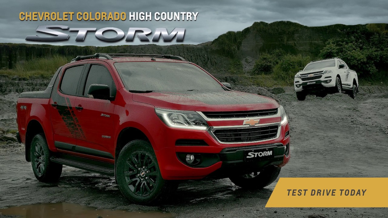 Chevrolet Colorado High Country Storm Youtube