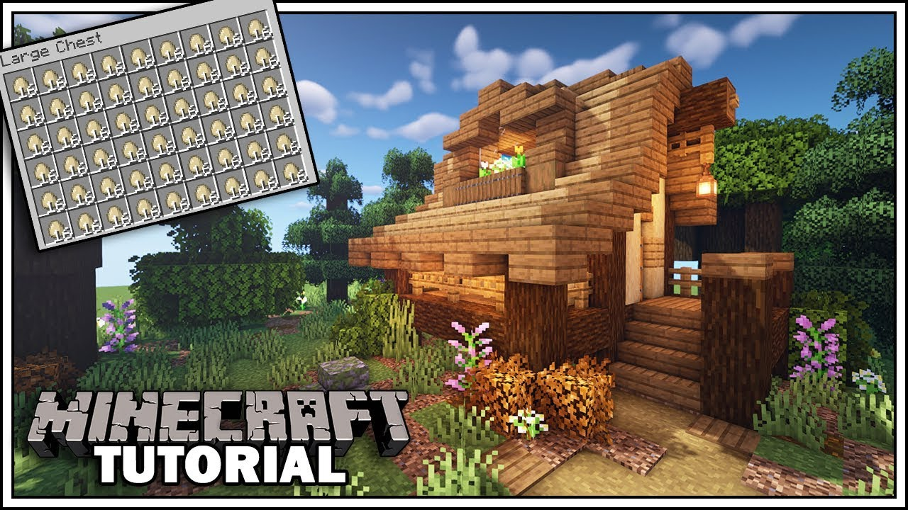 Minecraft Automatic Egg Farm Chicken Coop Tutorial Youtube