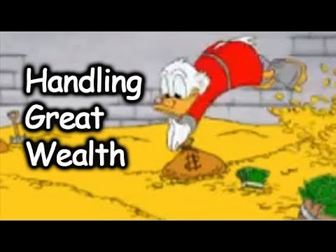 Keeping Your Income a Secret and How I'd Handle Great Wealth