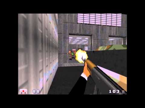 Goldeneye007Tc (gzdoom edition) Gameplay footage