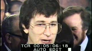 Steven Spielberg- Royal Premier Thames Television 'Close Encounters Of The Third Kind'