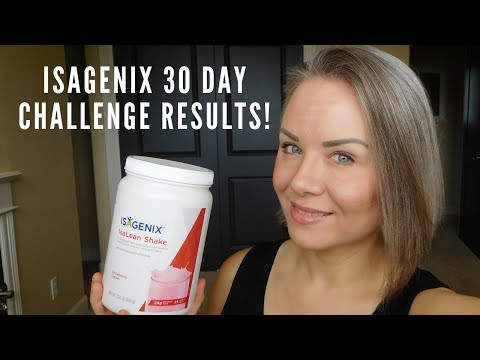 Isagenix 30 Day Challenge Results: How many pounds and inches??