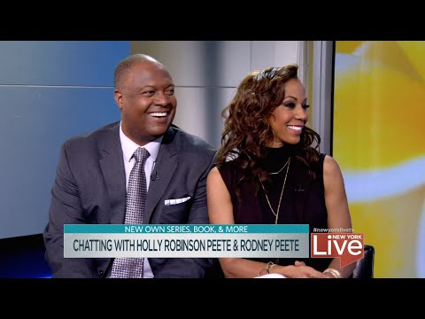 Chatting with Holly Robinson Peete & Rodney Peete
