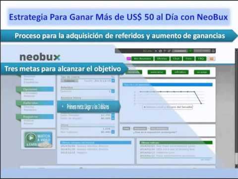 Cómo Ganar US$ 20 Darios en Neobux 2017 Paso a Paso..!!!