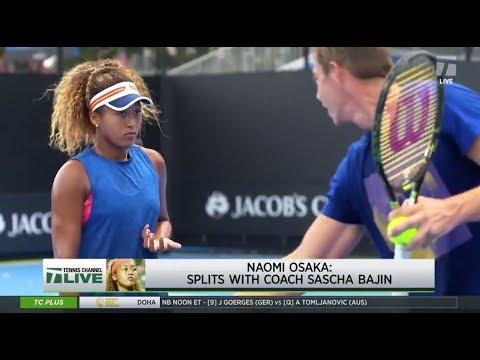 Tennis Channel Live: Naomi Osaka Splits With Coach Sascha Bajin Mp3