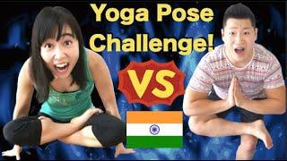 HARD YOGA POSE CHALLENGE with Kohei!