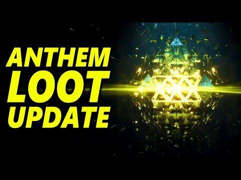 ANTHEM LOOT Update