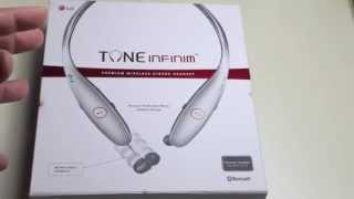 Review: NEW 2014 LG TONE INFINIM (HBS-900) Premium Headset