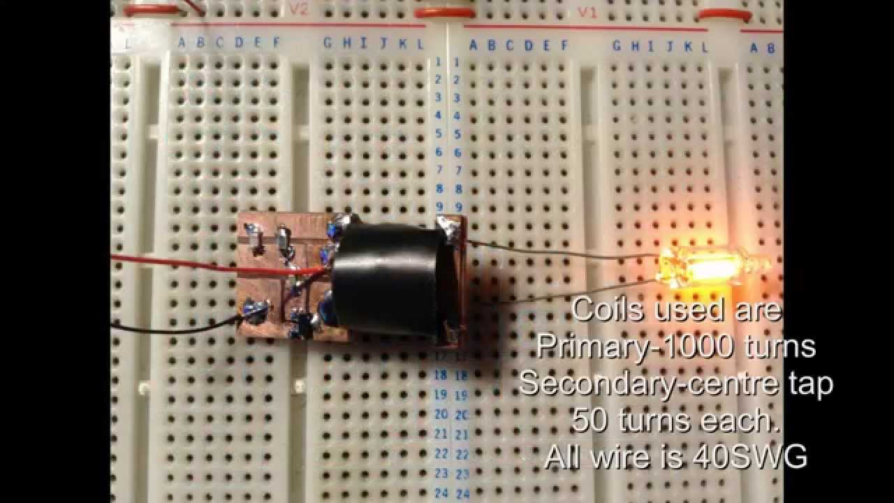 High Voltage Inverter Circuit Led Voltmeter Http Wwweleccircuitcom Simplevoltage