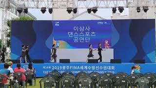 이삼사 댄스스포츠 세계수영선수권 대회 개막 단체공연 리…