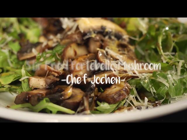 Healthy Bites: Stir Fried Portobello Mushroom
