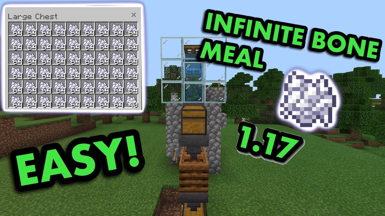 Simple 1 16 Automatic Bonemeal Farm Tutorial In Minecraft Bedrock Mcpe Xbox Ps4 Switch Windows10 Youtube