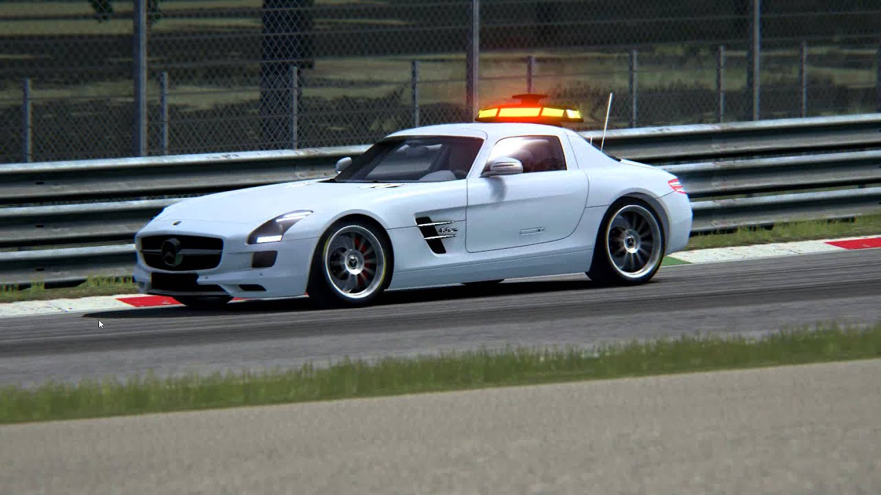 Wip Assetto Corsa Mercedes Sls Safety Car Youtube