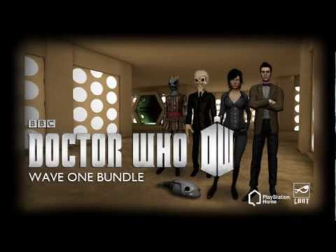 Doctor Who content coming to PlayStation Home this week
