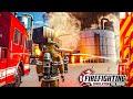 FIREFIGHTING SIMULATOR #6: Großbrand im Industriegebiet: Chemiepark brennt Feuerwehr - The Squad