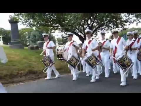 US Merchant Marine Academy Parade at Green-Wood Cemetery