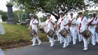 US Merchant Marine Academy Parade at Green-Wood Cemetery