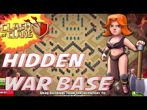 Clash of Clans - HIDDEN SUPERCELL WAR BASE! | WITH REPLAYS! |