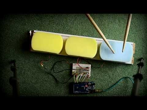 Arduino Mega Drums Test 1