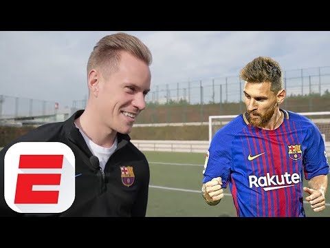 What's it like to face a Lionel Messi penalty? Ter Stegen exclusive