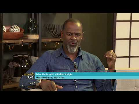 Brian McKnight visits the Expresso Show