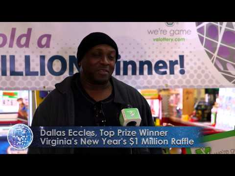 Second Virginia Lottery Raffle Winner Claims $1 Million Prize! - YouTube