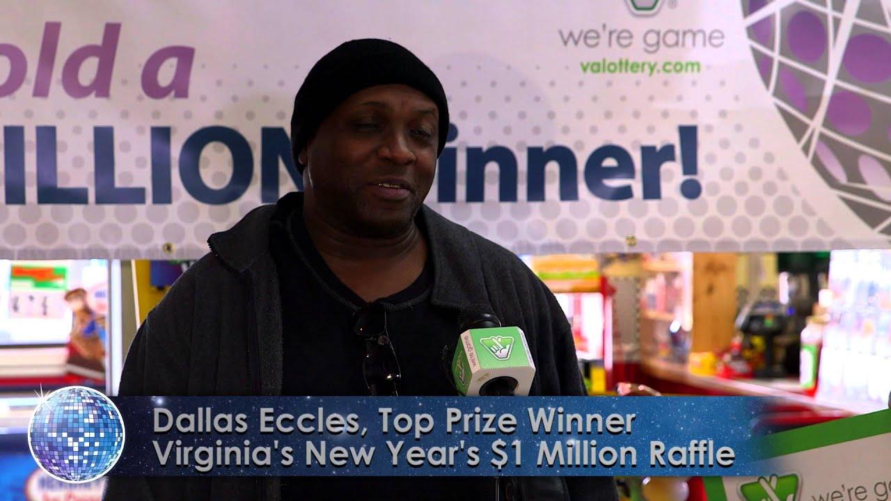 Second Virginia Lottery Raffle Winner Claims $1 Million Prize!