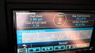 Kenwood DNX9980HD EcoRoute HD options and demo