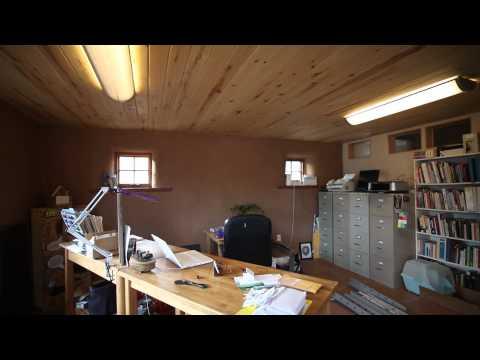 Straw Bale Zero Energy House Tour in Boulder, Colorado