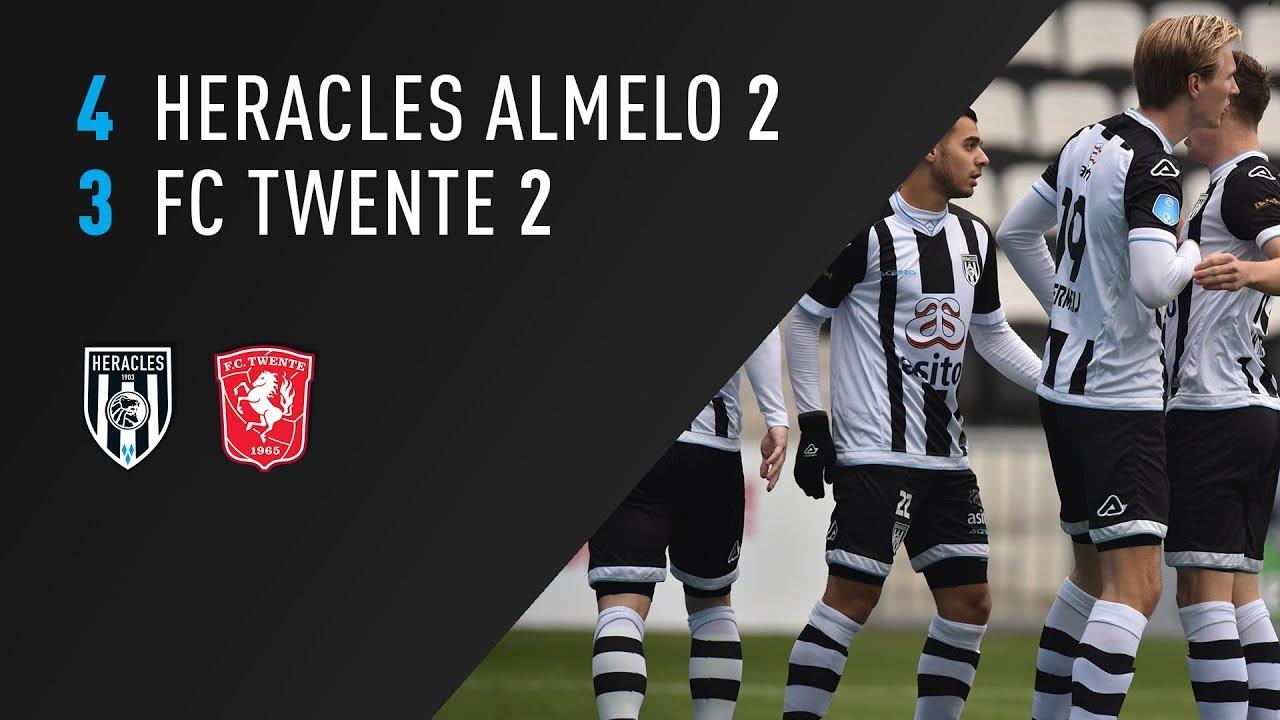 Heracles Almelo 2 - FC Twente 2 | 05-11-2018 | Samenvatting