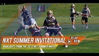 nxt summer invitational   2013 lax com highlights