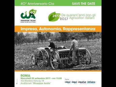 RADIO UNO GLOBAL TUTTO E' ECONOMICA - Agricoltura, le proposte Cia dalla celebrazione dei 40 anni