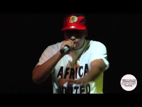 Humanist (Burkina Faso): Trinity College International Hip Hop Festival (2013)