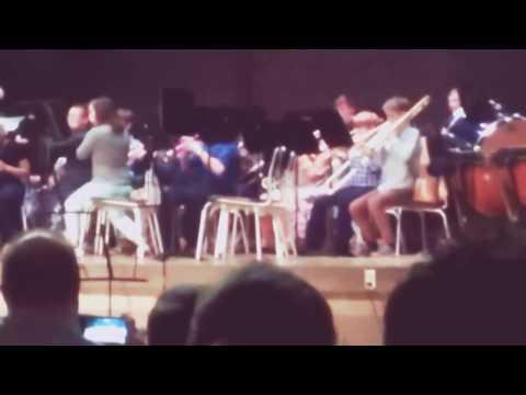 Callanan Middle School 6th grade band concert Part 2