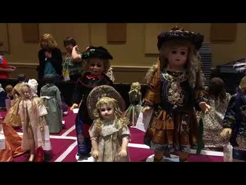 You Will Not Believe This Competitive Doll Exhibit at UFDC in Orlando, Florida