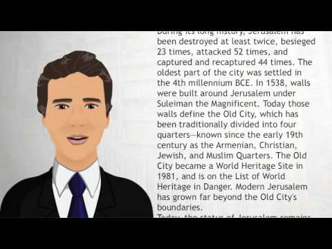 Jerusalem, capital of the State of Israel - Wiki Videos