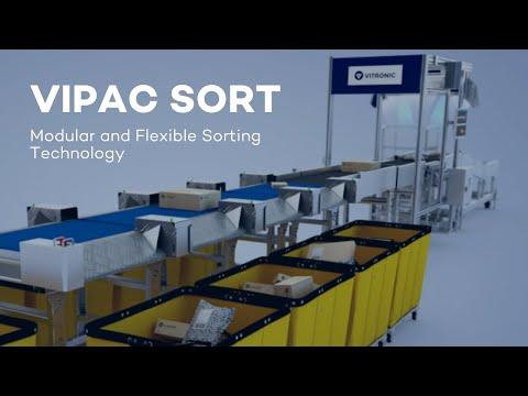 VIPAC SORT - Modular and Flexible Sorting Technology