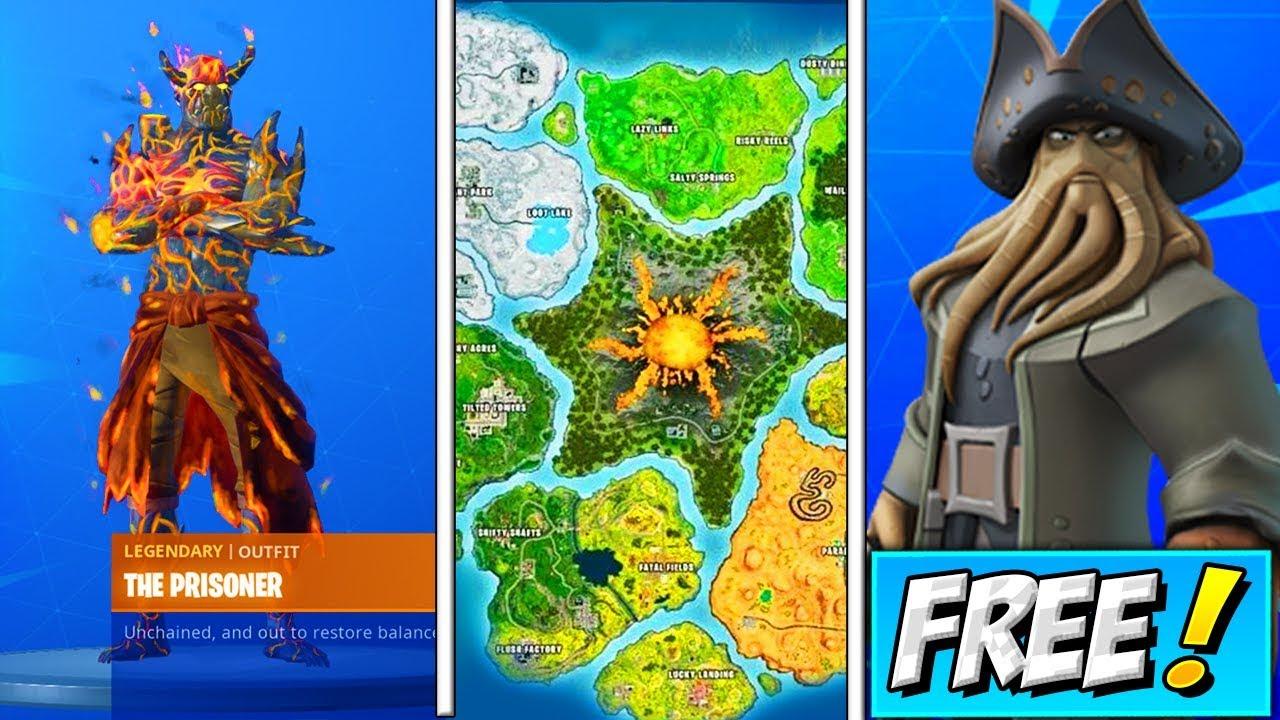 Season 8 Patch Notes Fortnite Map | Fortnite Free Lg