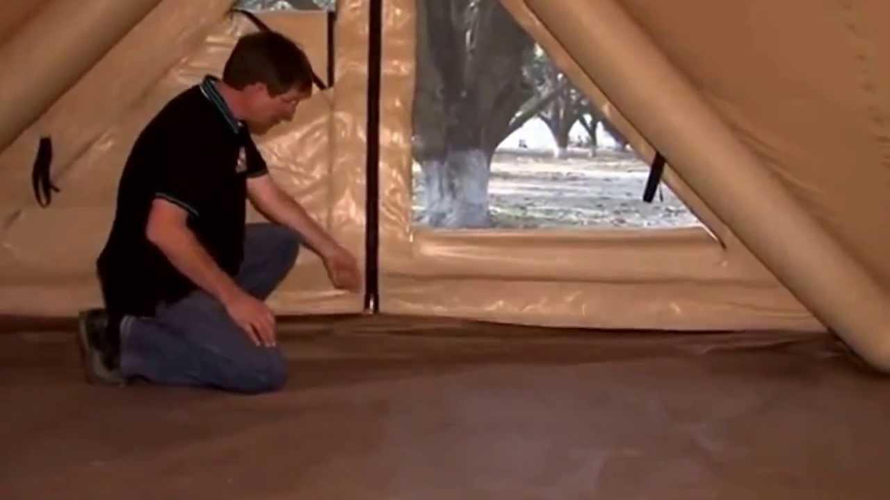خيمة هندية ترتفع بواسطة الهواء بدون اطناب وحبال Youtube