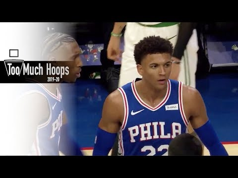 Matisse Thybulle Defensive Highlights from his Rookie Debut vs Boston Celtics